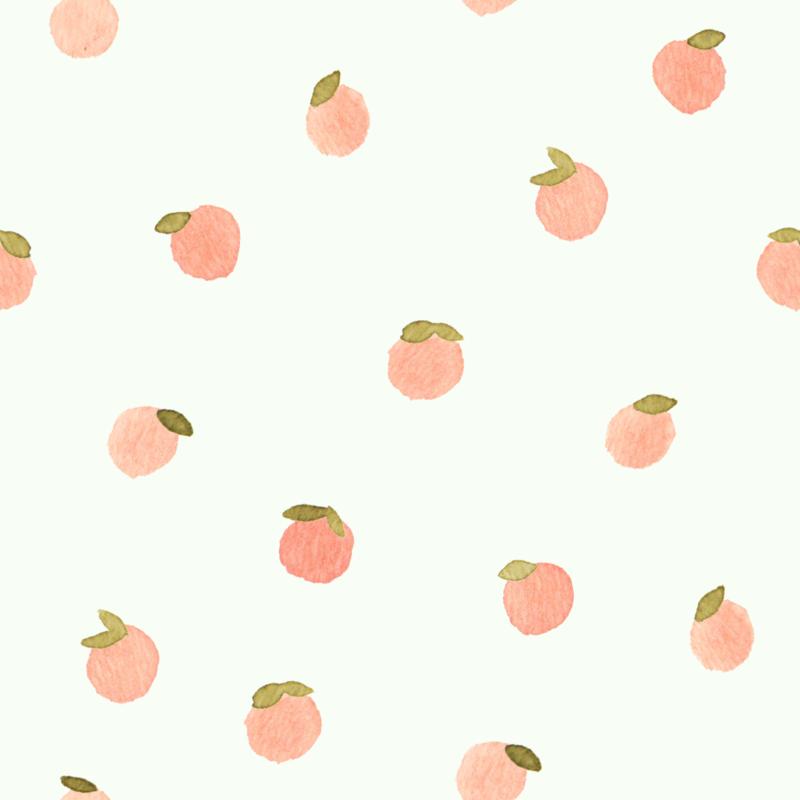 Sweet Peach Polka Dot