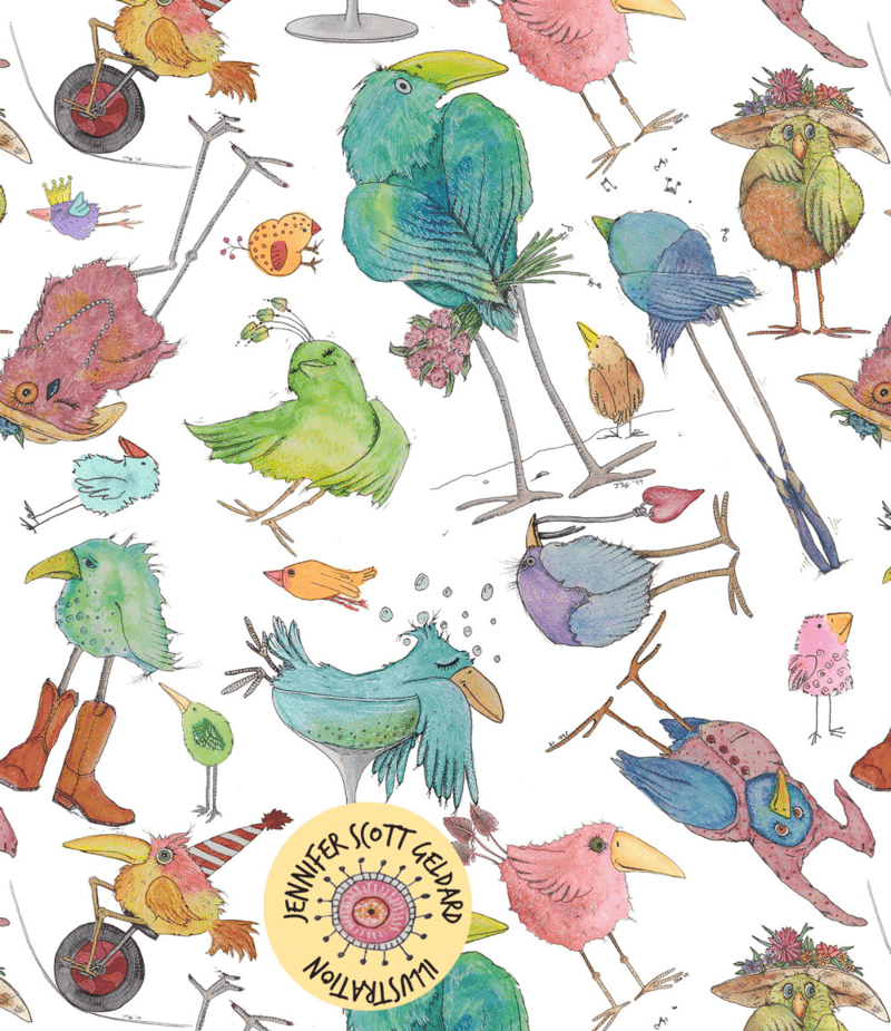 Birds by Jennifer Geldard