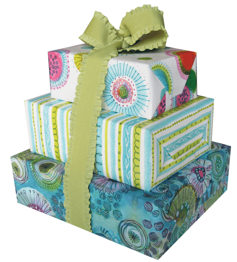Lucie's gift wrap
