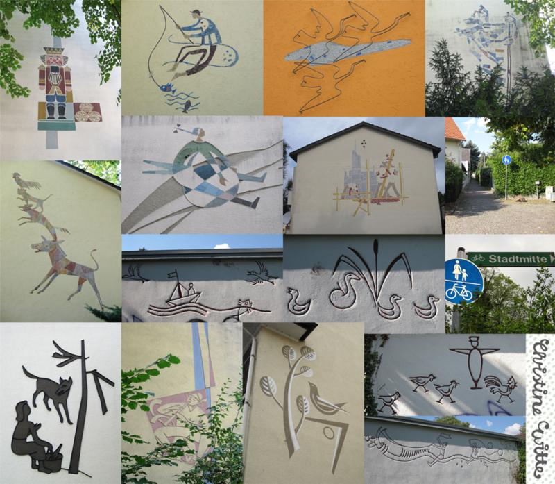 Murals in Witte's town