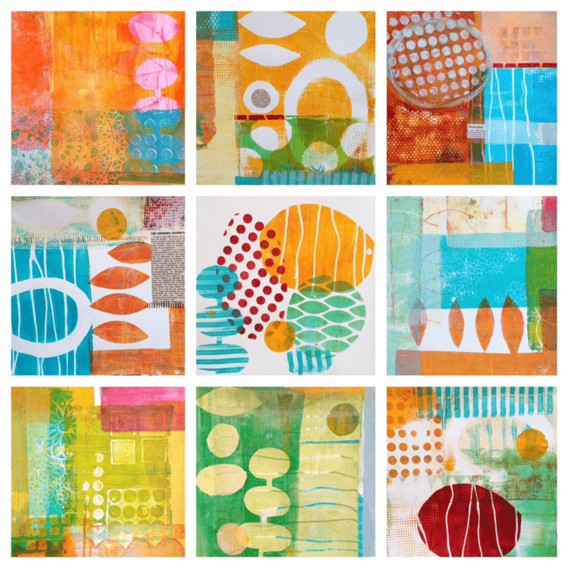 Lucie's Monoprints