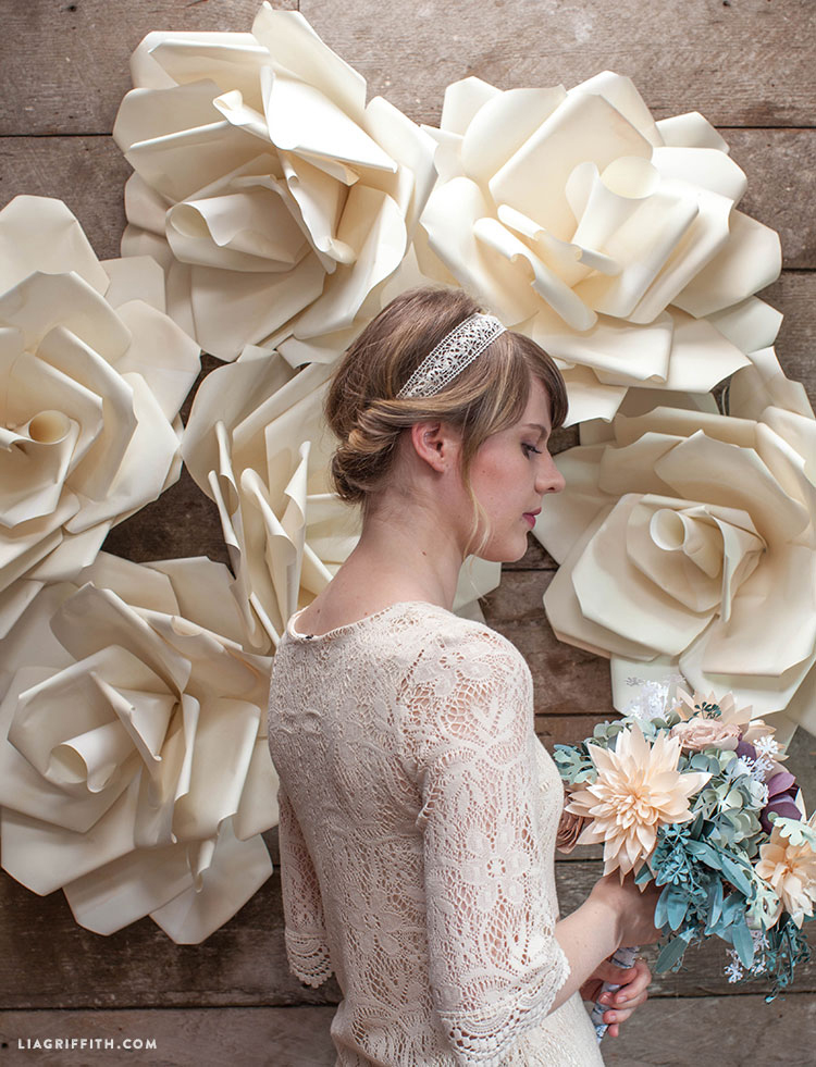 How to Make a Jumbo Paper Flower Backdrop | Spoonflower Blog