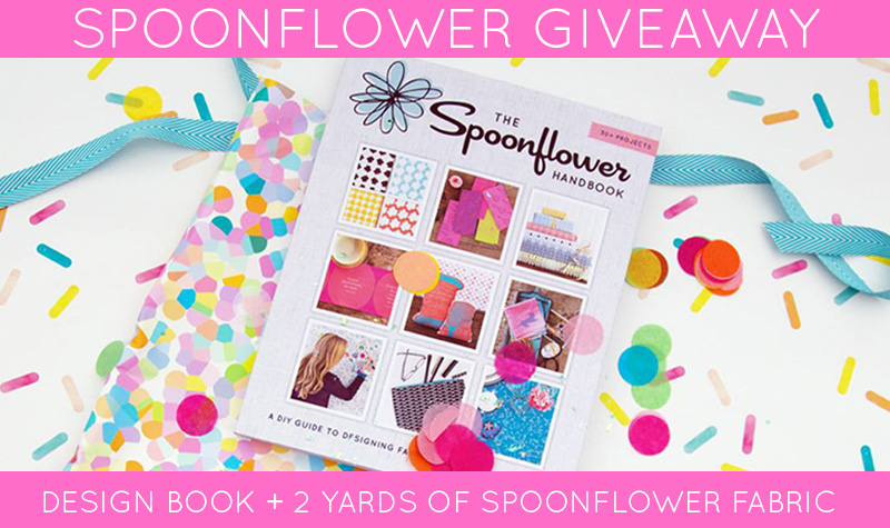 Spoonflower Handbook giveaway!