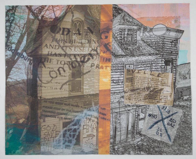 Eileen Donovan's quilt will be on display at Digital Alchemy