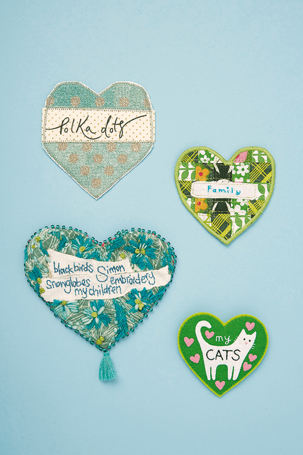 Mollie Makes shares little hearts of craftivism for the #Fortheloveof campaign