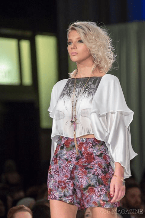 A look from Nataliya Meyer's winning collection
