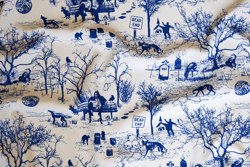 Post-apocalyptic toile