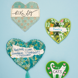 DIY fabric tags