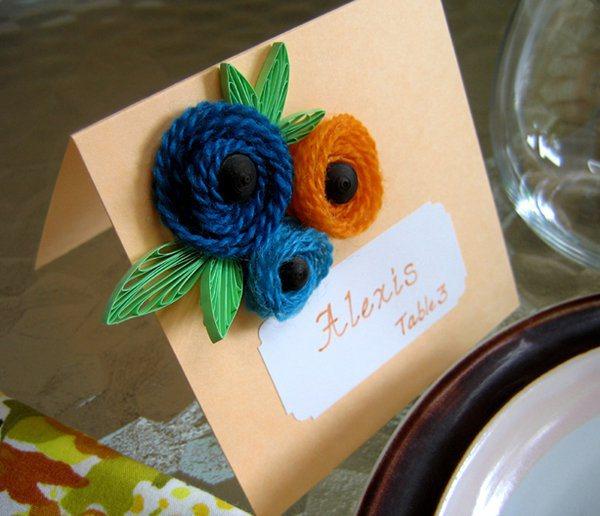 Yarn-card