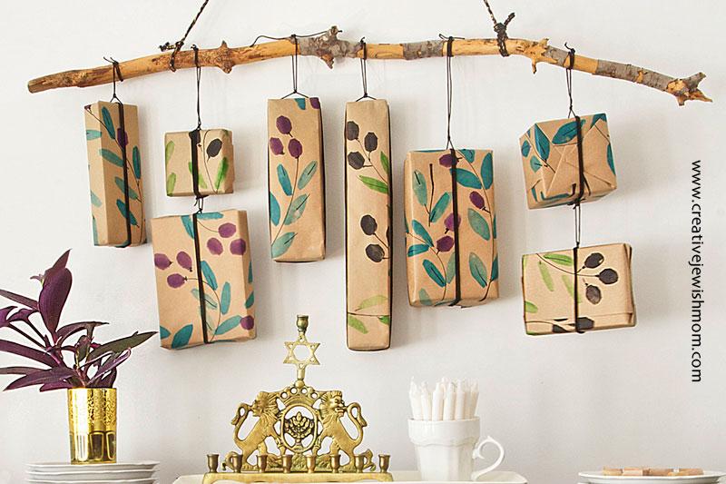 DIY Hanukkah Calendar