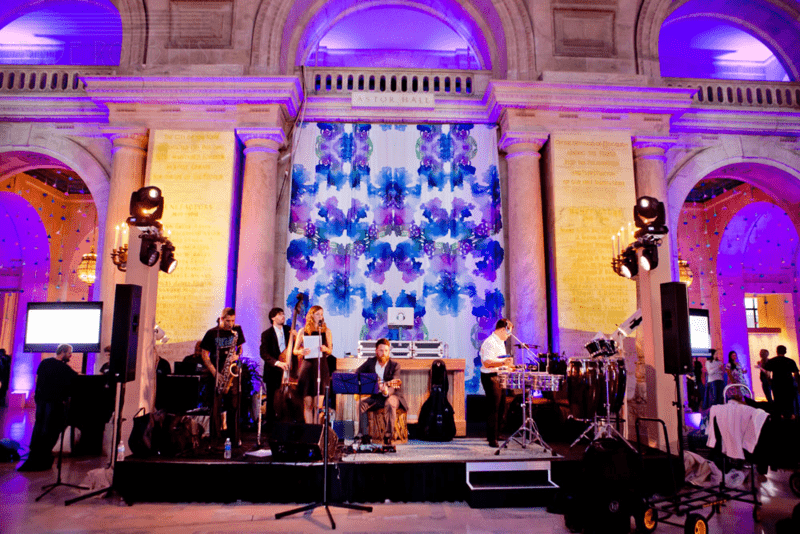 Bohemian Backdrop at The Knot Gala