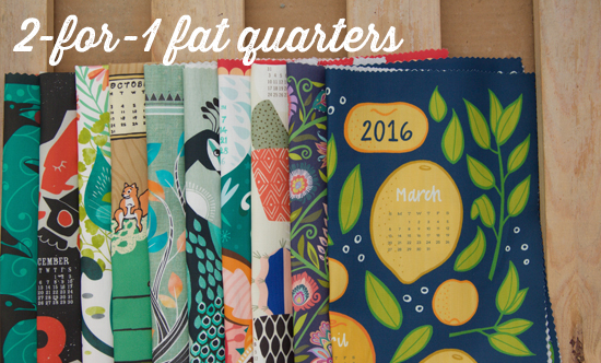 2-for-1 Fat Quarters
