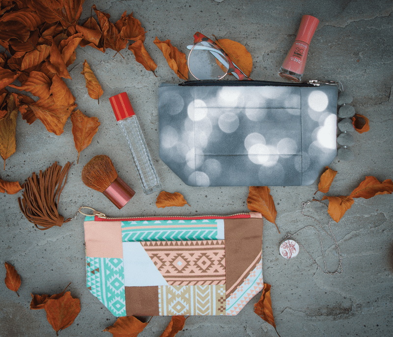Both clutches with accessories