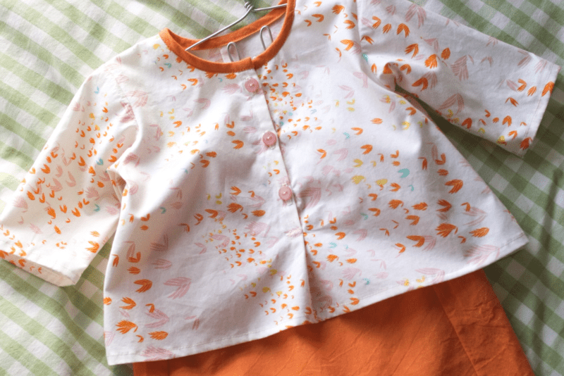 Lullaby Layette sewn by Probably Actually