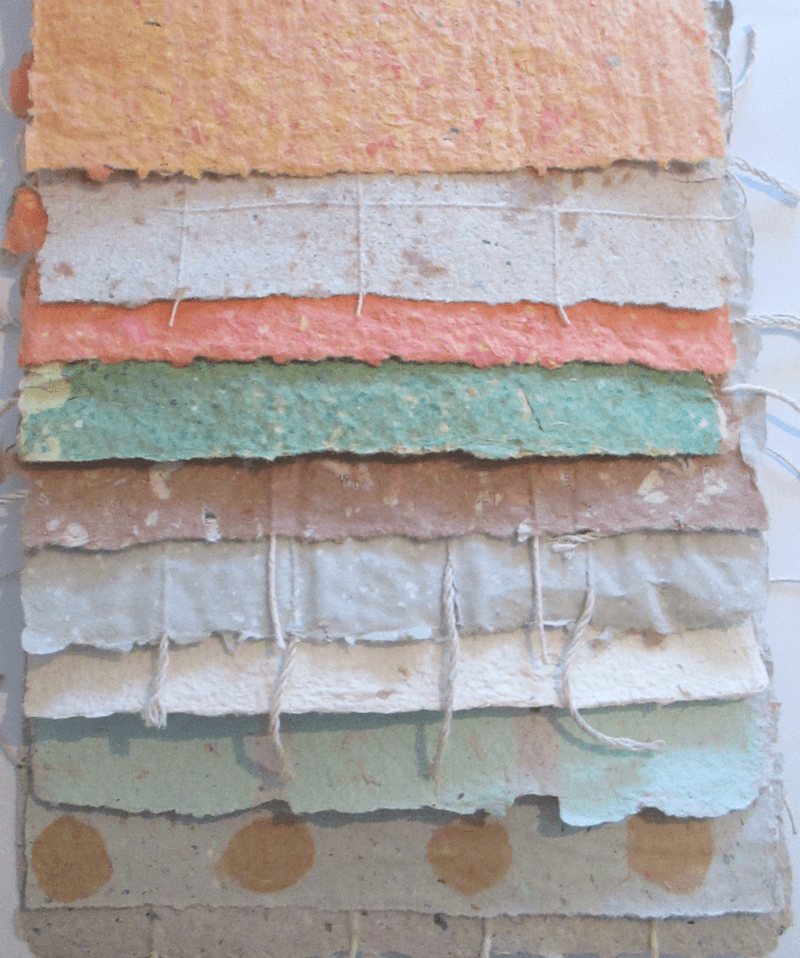 20 Sheets of Handmade Paper