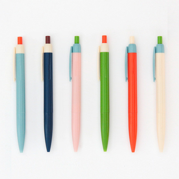 Color Blocked Pens from Poketo