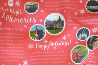 Chalmers Family Newsletter - Spoonflower Fabric