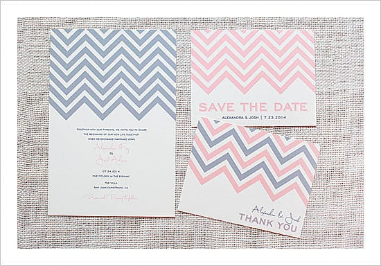 Chevron-Wedding-Invitation