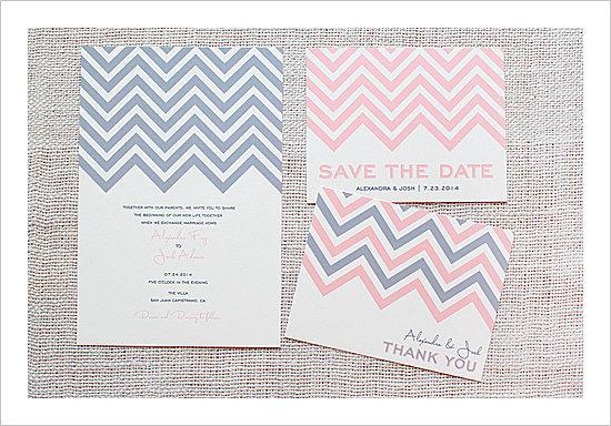 Chevron-Wedding-Invitation