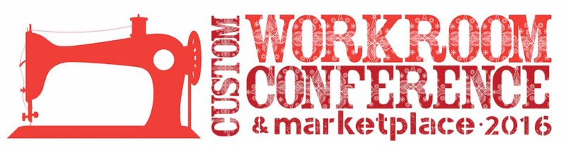 The Custom Workroom Conference is coming to Concord, NC!