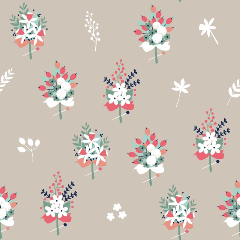 Free wedding-themed digital downloads from Spoonflower and Cerigwen