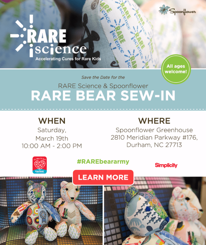 Join us in the Greenhouse for a RARE Bear sew-in!