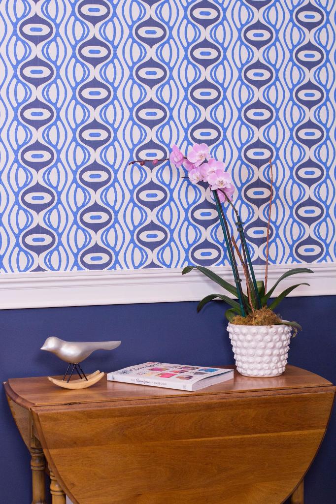 Raining Linen wallpaper by Holli Zollinger