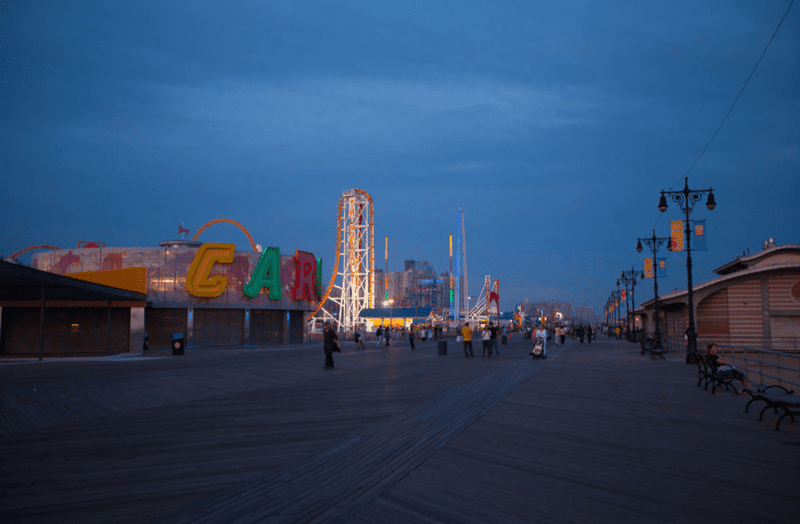 Coney Island Photograph by Anne Spalter