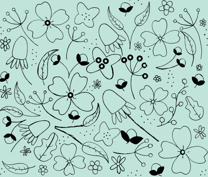 Fancy Floral: Winning 2014 Staff Challenge Design