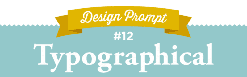 March Desing-A-Day SpoonChallenge, Typographical, Typography, Day 12, #SFDesignADay