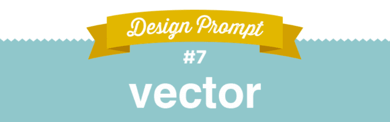 Day 7 Design Challenge, #SFDesignADay, SpoonChallenge, Vector Design, Vector, Design Prompt
