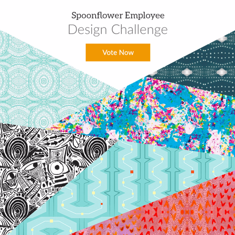 Announcing the 2016 Spoonflower Employee Design Challenge!