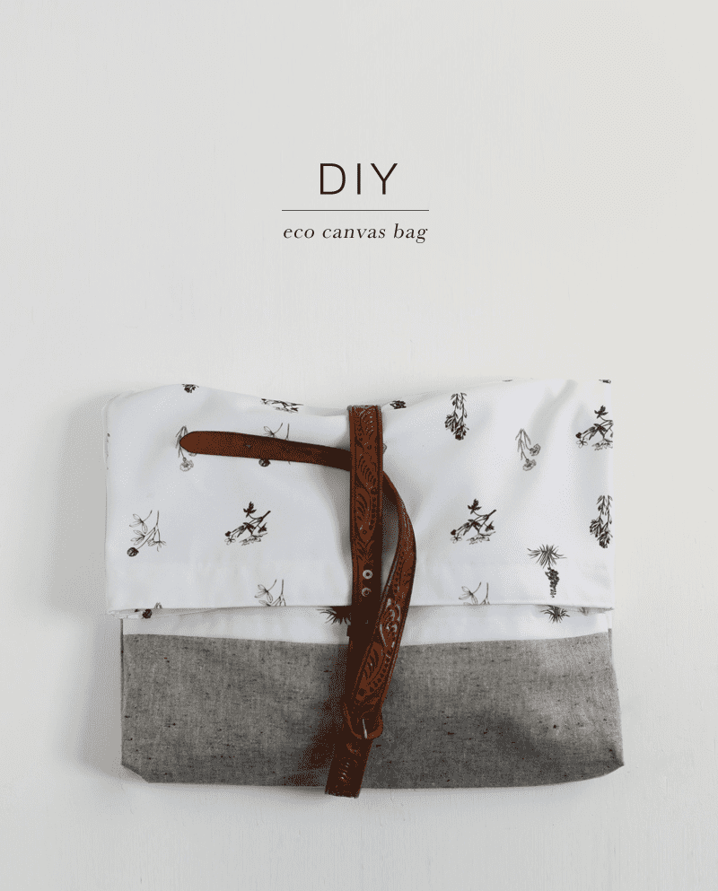 DIY Eco Canvas Bag
