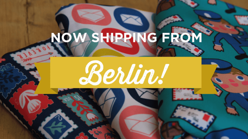Spoonflower is now shipping from Berlin!