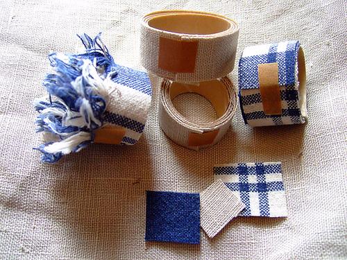 DIY fabric paper tape