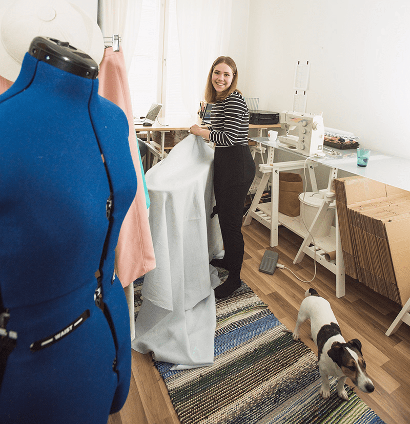 An Interview with Sisters Saara and Laura of Named Clothing | Spoonflower Blog