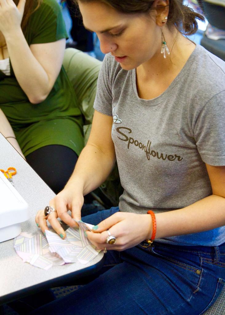 Meredith sews a RARE Bear for RARE Science
