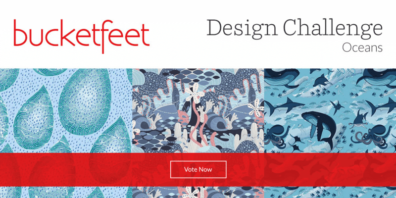 Vote for your favorite BucketFeet designs!
