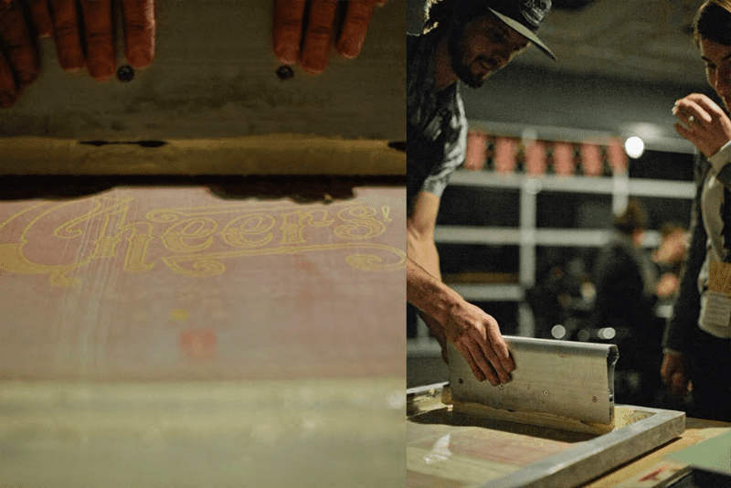 Screenprinting with DapperInk