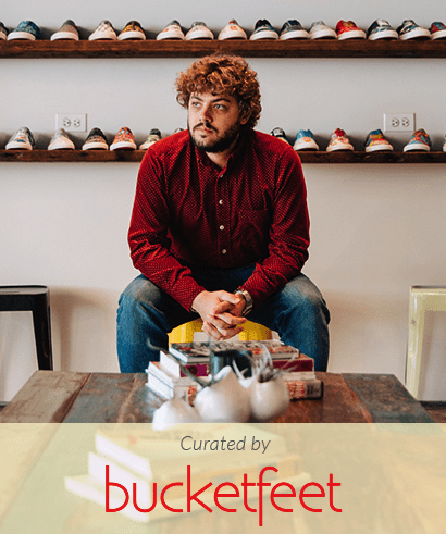 pick up a fat quarter bundle curated by BucketFeet