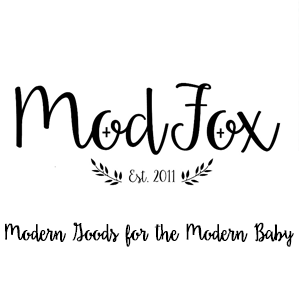 ModFox Logo: Modern Goods for the Modern Baby