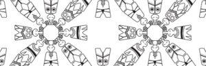 Spoonflower designer Liss Stender (livaurora)