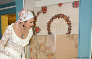 Kadella's pride quilt and scarf by Regina Lynch-Hudson