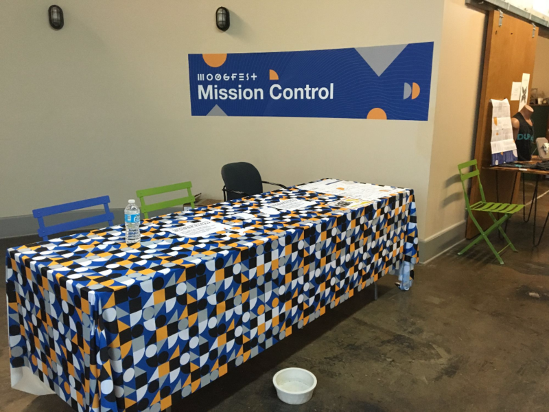 Moogfest Mission Control Banner