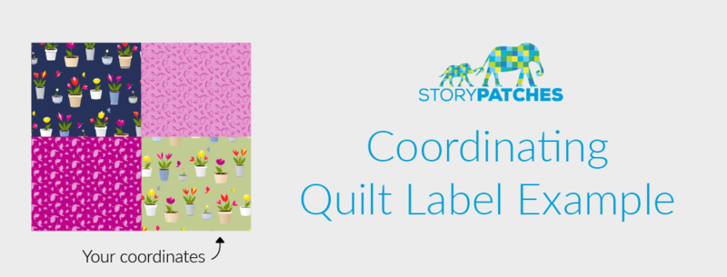 Your designs will be adapted for exclusive StoryPatches labels!