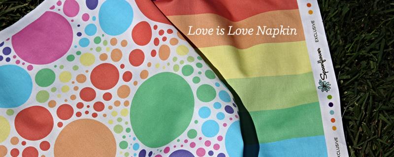 Love is Love DIY Napkin Project