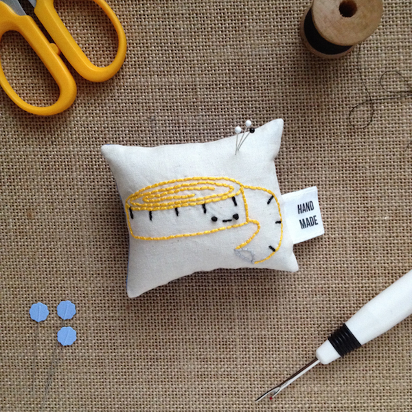 Learn how to make fabric labels for your handmade goods