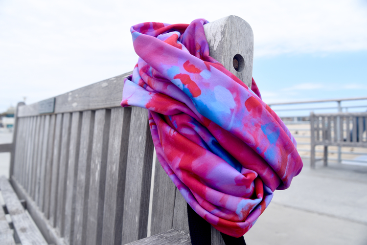 Topanga Abstract Infinity Scarf