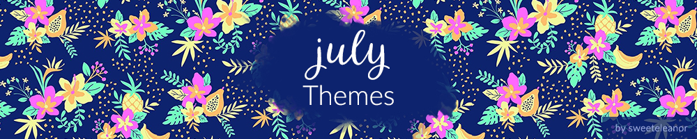 July weekly prompt themes