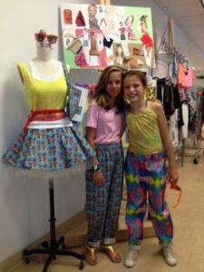 Stitched fashion camp